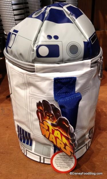 R2-D2 lunch bag handle