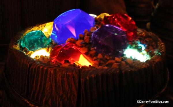 Gems in the Seven Dwarfs Mine Train Queue