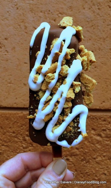 S'Mores Ice Cream Bar at Clarabelle's!