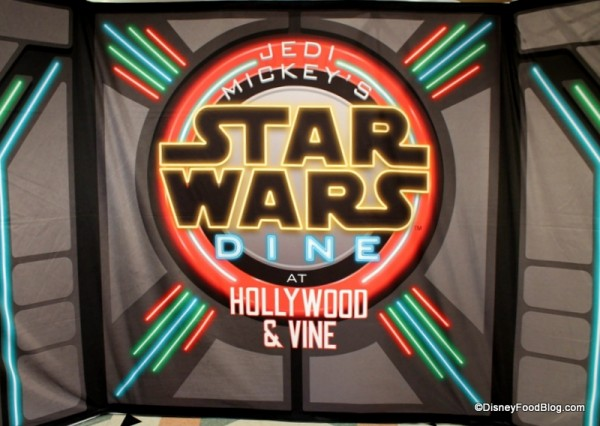 Star Wars Character Meal Backdrop