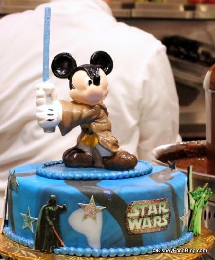 Jedi Mickey Cake