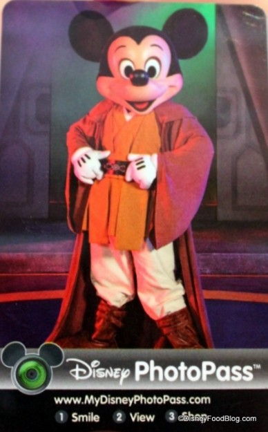 Star Wars Character Meal Photo Pass