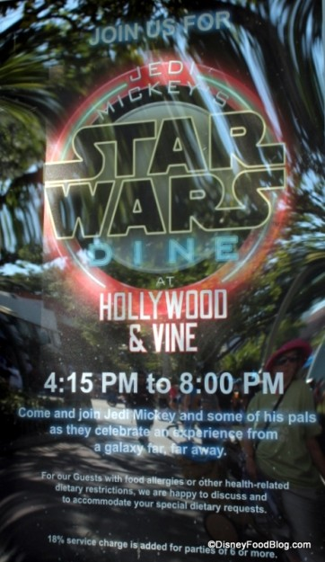 Jedi Mickey's Star Wars Dine