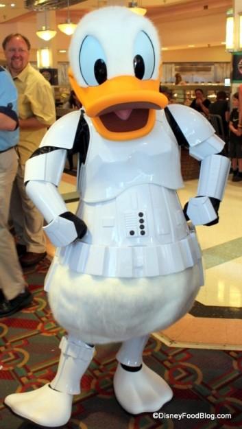 Storm Trooper Donald at Hollywood & Vine