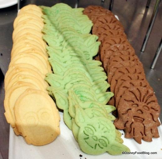 Star Wars Character Meal Sugar Cookies