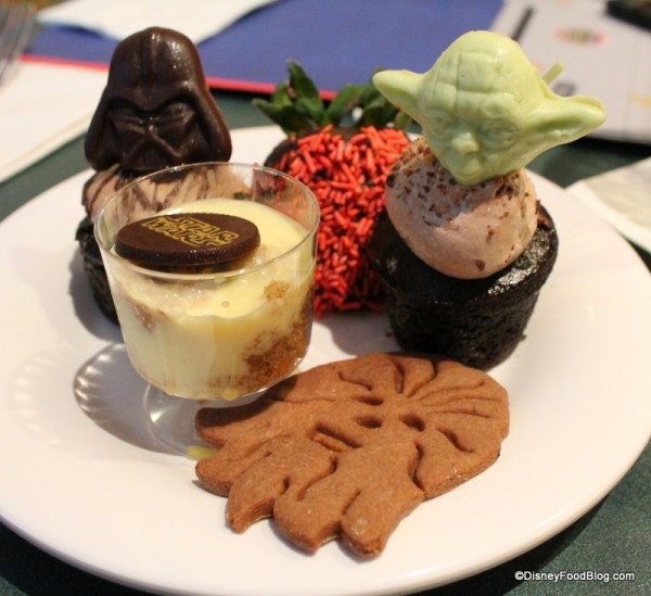 Star Wars Desserts at Hollywood and Vine
