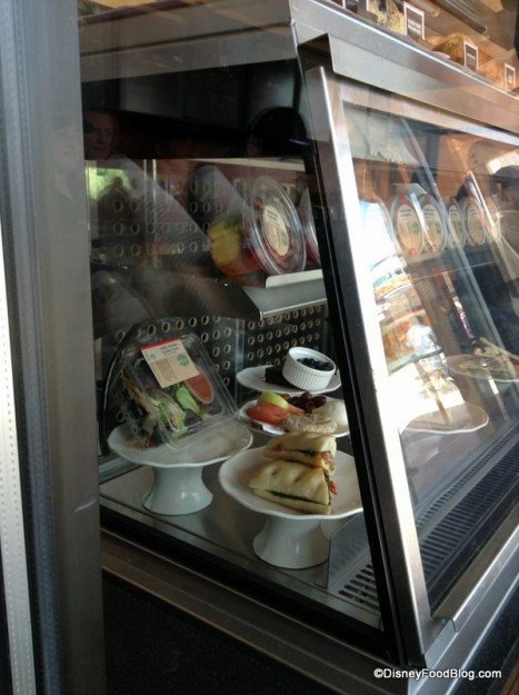 Starbucks food window
