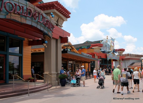 Marketplace Starbucks at World of Disney