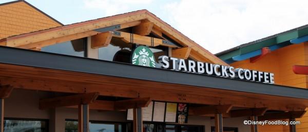 Starbucks Coffee Signage