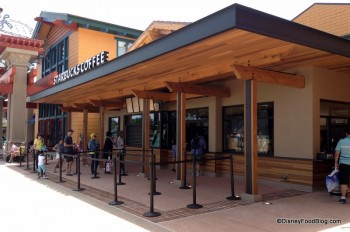 Starbucks Downtown Disney World of Disney Marketplace Orlando (4)