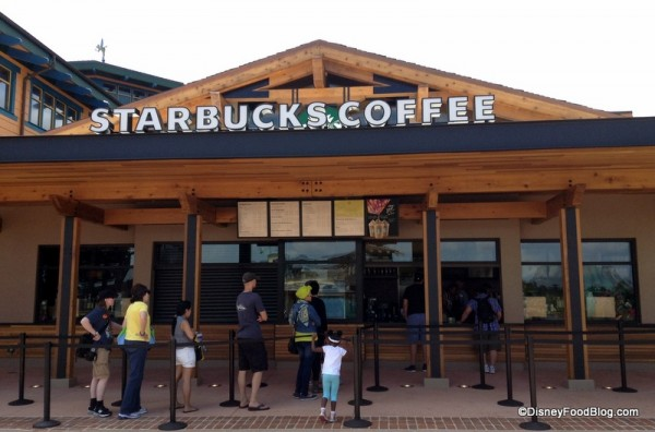 Front view of Marketplace Starbucks