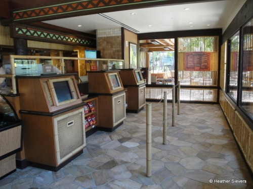 Ordering Kiosks