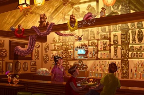 Meet Me at Trader Sam's Grog Grotto!
