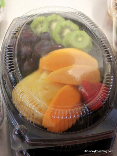Tropical Fruit Plate -- Up Close