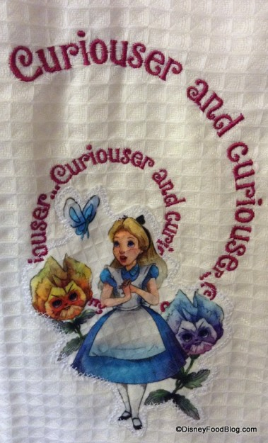 Alice in Wonderland Towel