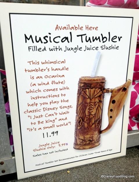 Musical Tumbler