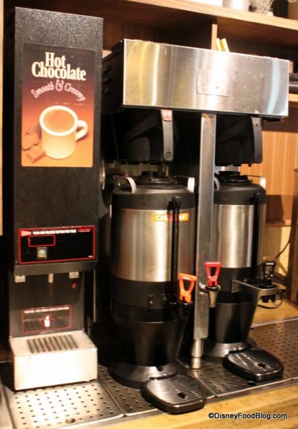 Coffee and Hot Chocolate