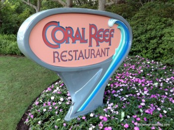 coral reef sign