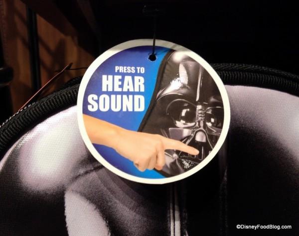 Darth Vader bag effects