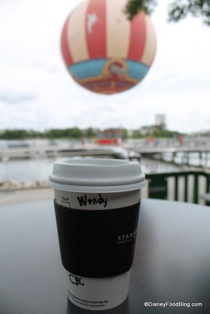 Starbucks Reserve Coffee black sleeve