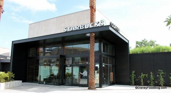 West Side Starbucks in Downtown Disney