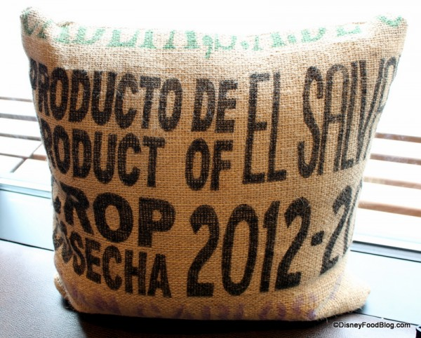 """Coffee sack"" Pillow"