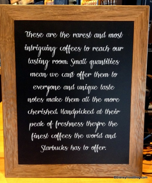 Reserve Coffee information