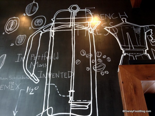 French Press mural