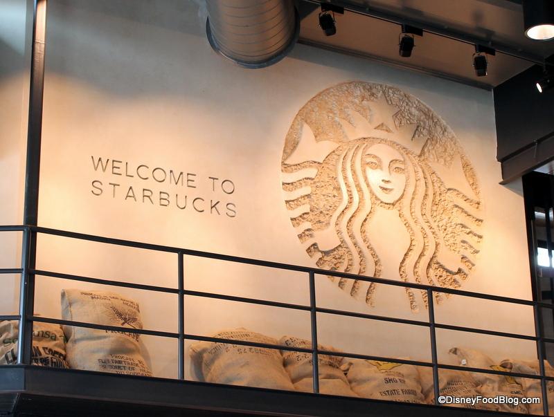 Downtown Disney Starbucks   the disney food blog
