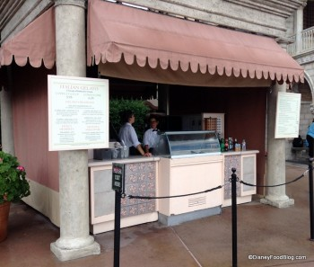 epcot italy gelato stand