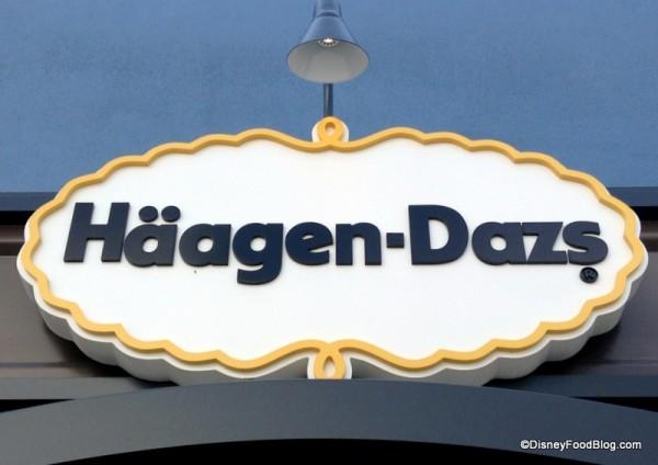 Haagen-Dazs sign
