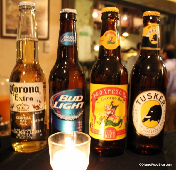 Selection of beer