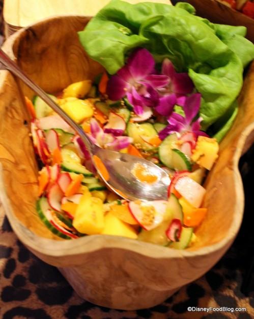 Mango, Radish, Lime and Mustard Seed Salad