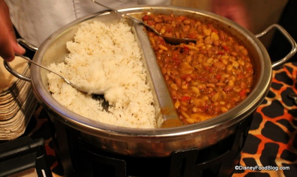 Vegetarian Legume Wat served over Basmati Rice
