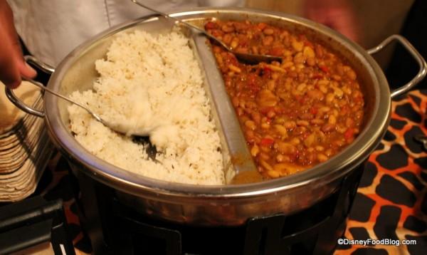 Vegetarian Legume Wat served over Basmati Rice