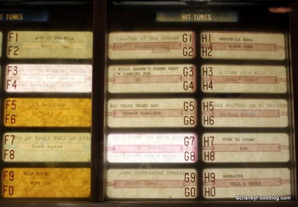 More Jukebox Selections