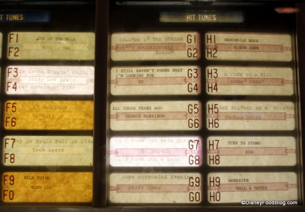 More Jukebox Selections