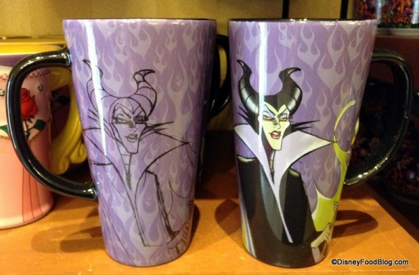 Front AND Back of Maleficent mug
