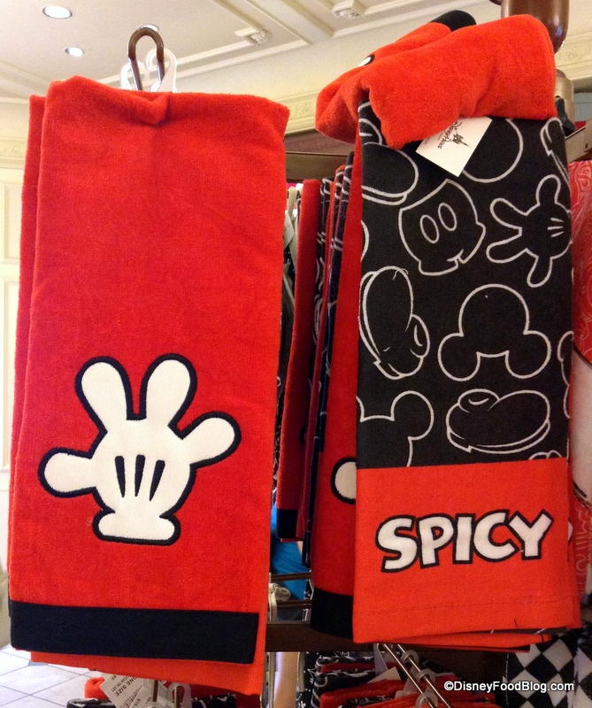 Spotted! Character Kitchen Towel Sets in Disney World | the disney ...