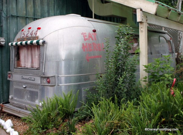Outside View of the Airstream