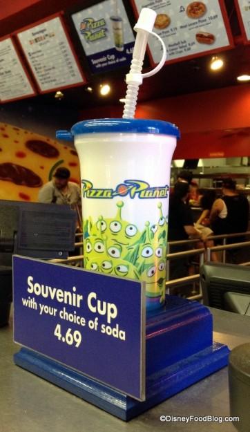 Pizza Planet souvenir cup