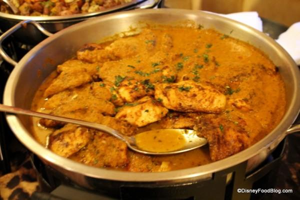 Seared Line-caught Corvina Filet with Goan Curry Sauce
