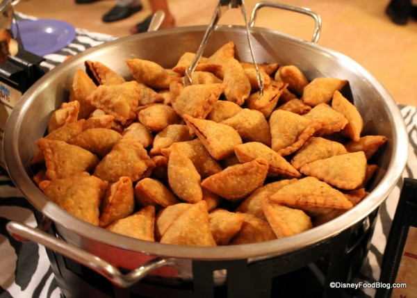 Spicy Vegetable Samosa