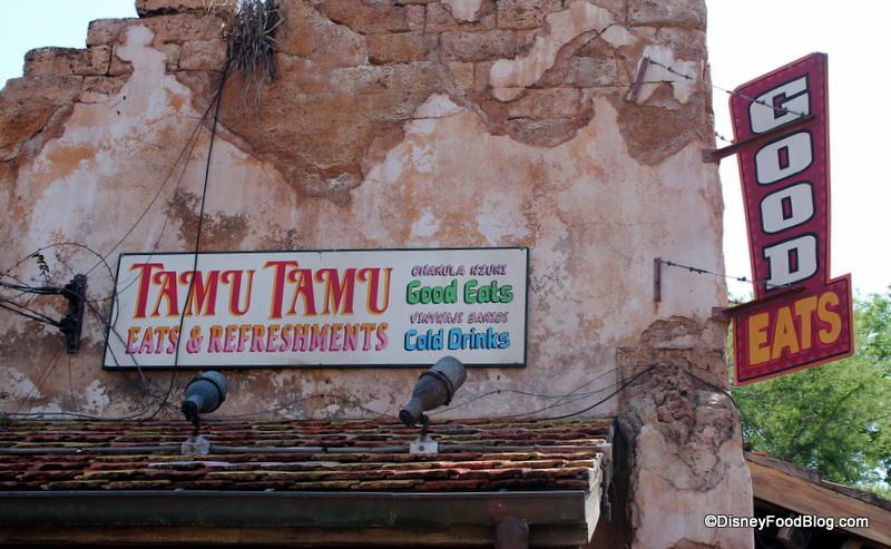 New Sweet and Spirited Treats — Including Dole Whip Floats! — Appear at Animal Kingdom's Tamu Tamu!