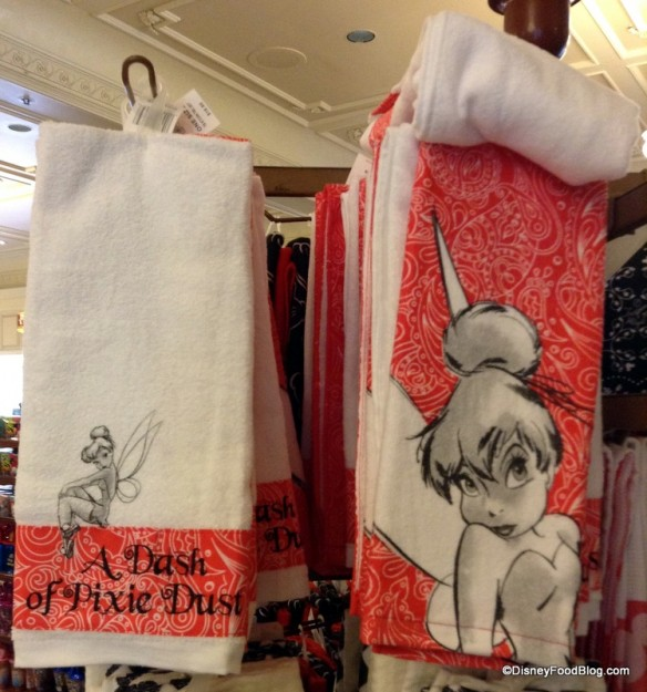 Tinkerbell towel set