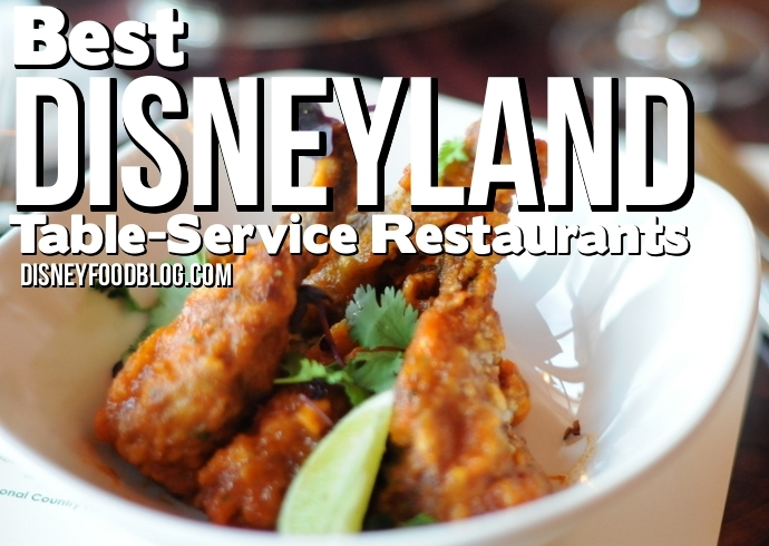 Best Table Service Restaurants In The Disneyland Resort The Disney - Table service restaurants