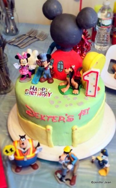 Happy Birthday Jeff Disney Cake