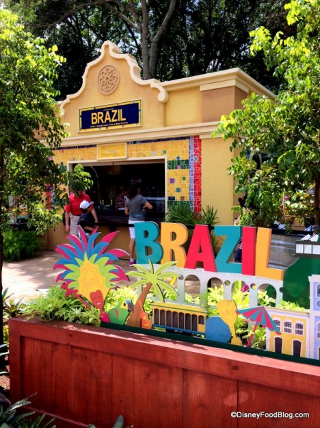 Stop by the Brazil Booth for
