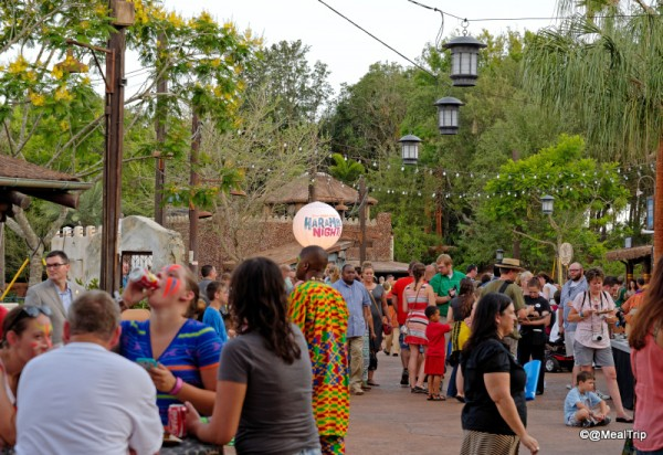 Cast Members Directing Guests to their Animal Entrances