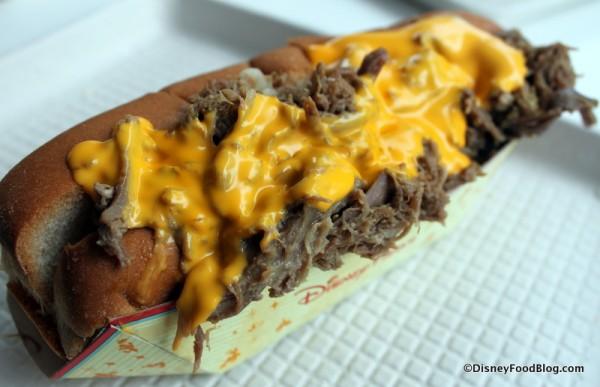 Philly Cheese Steak Hot Dog